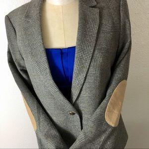 LOFT sz 8 suit jacket shoulder patches